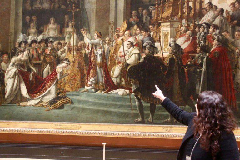 Visite guidée du Musée du Louvre avec Art Story Walks, Le Sacre de Napoléon