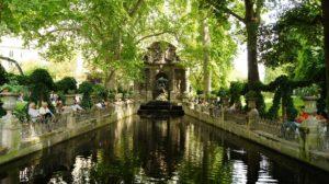 Fontaine Médicis, jardin du luxembourg. Quartier Latin, Paris