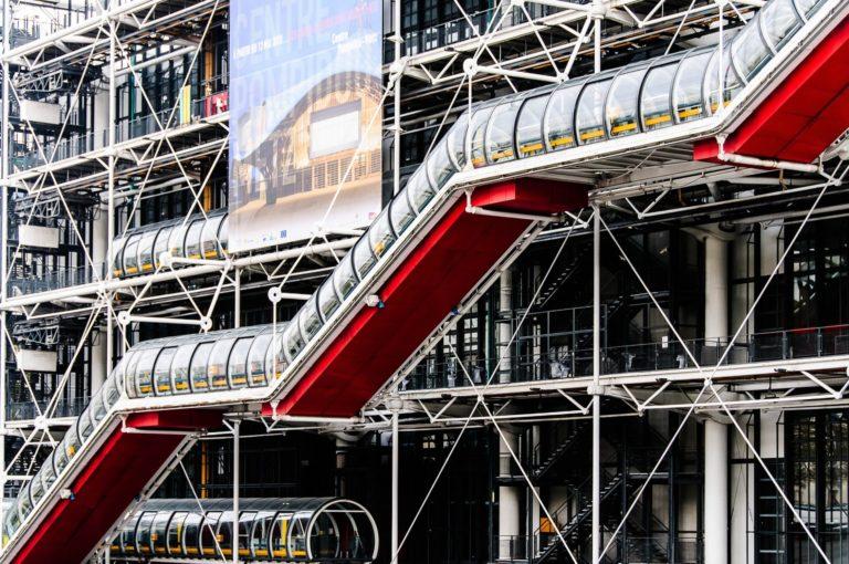 Centre Pompidou, Marais, Paris