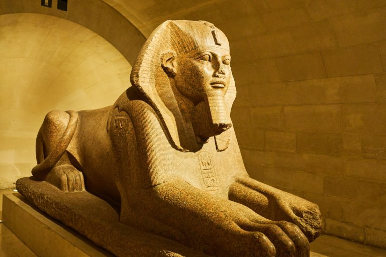 Sphinx Museo del Louvre