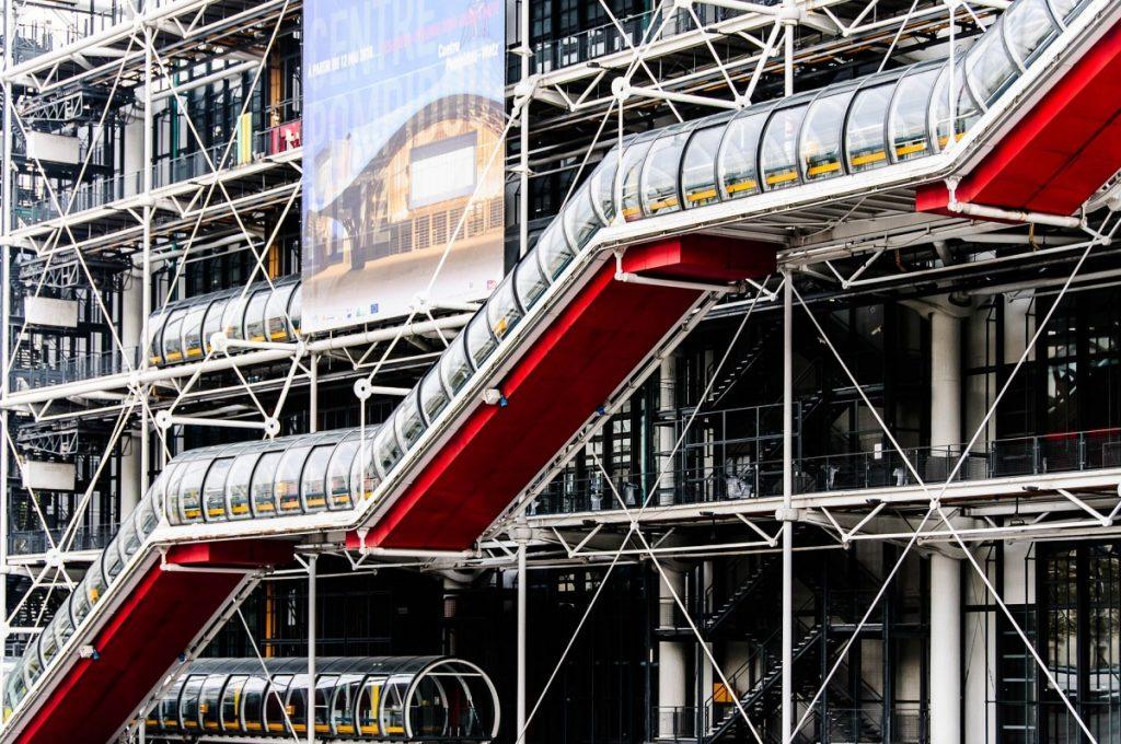 Centre Pompidou, visite Marais