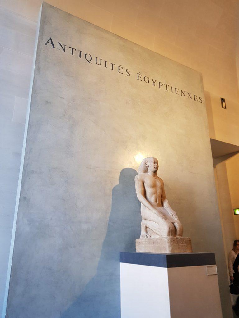 Antiquités Egyptiennes, Louvre.