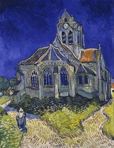 Van Gogh ad Auvers sur Oise The_Church_in_Auvers-sur-Oise_View_from_the_Chevet_