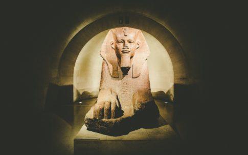 Le Sphinx de Tanis, Musée du Louvre