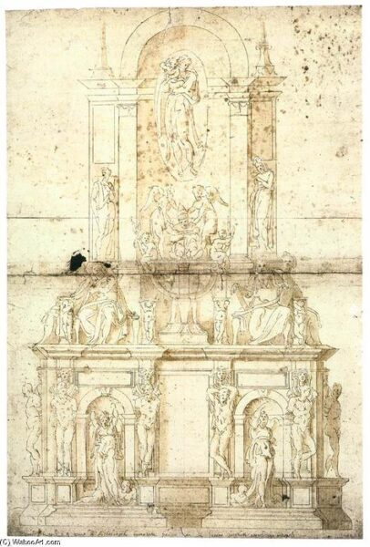 Giacomo-Rocca-Michelangelo_s-Draft-for-the-Tomb-of-Julius-II