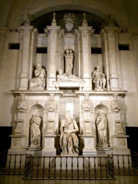 Tombeau du pape Jules II. Saint Pierre aux liens, Rome